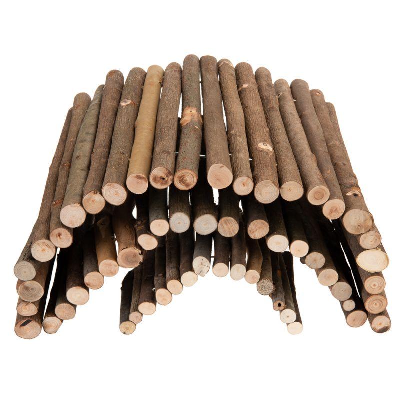 Ponte in legno per piccoli animali